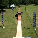 Mobile Mountainboard Exhibition Ramp