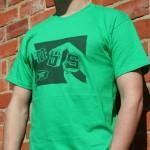 MBS Hands T-shire Irish Green