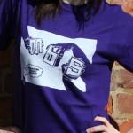 MBS Hands T-shire Purple
