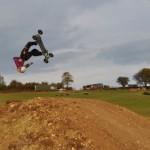 Ben Searle upside down