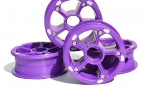 MBS RockStar II hubs purple