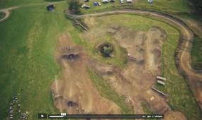 aerial footage of bugsboarding