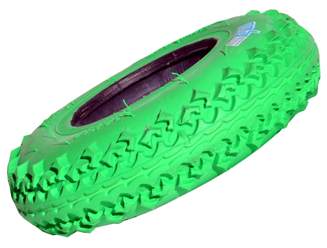 13136 - MBS T3 Tyre - Green