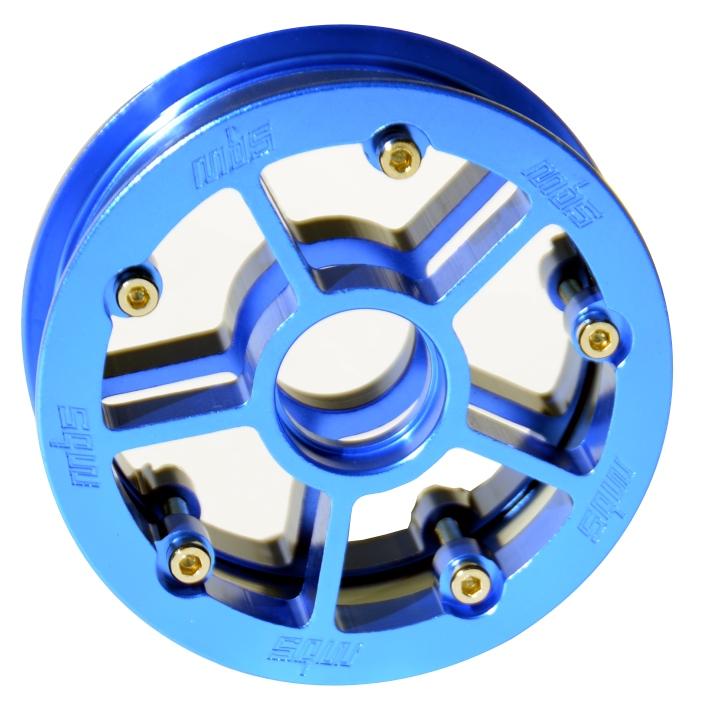 13242 - MBS Rock Star Pro Hub - Blue Aluminum