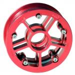 13243 – MBS Rock Star Pro Hub – Red Aluminum