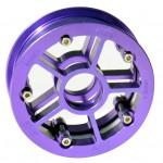 13247 – MBS Rock Star Pro Hub – Purple Aluminum