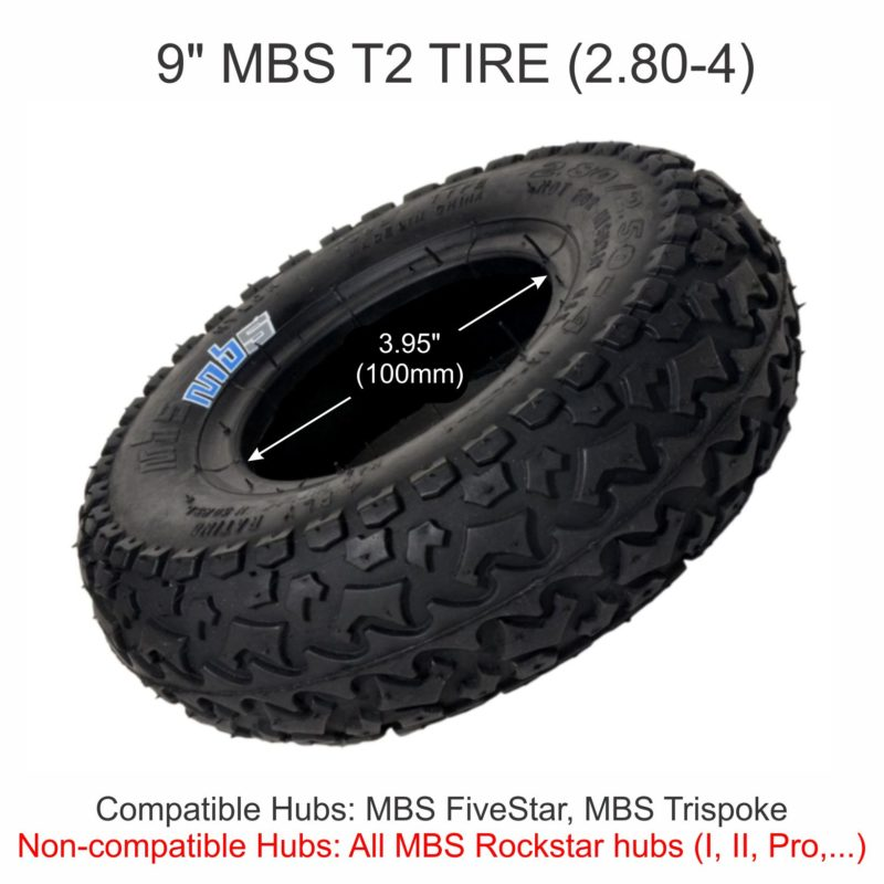 MBS T2 Tire Dims and Compatiblity