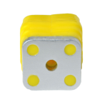 12251-MBSShockBlocks-Yellow-Single-Bottom