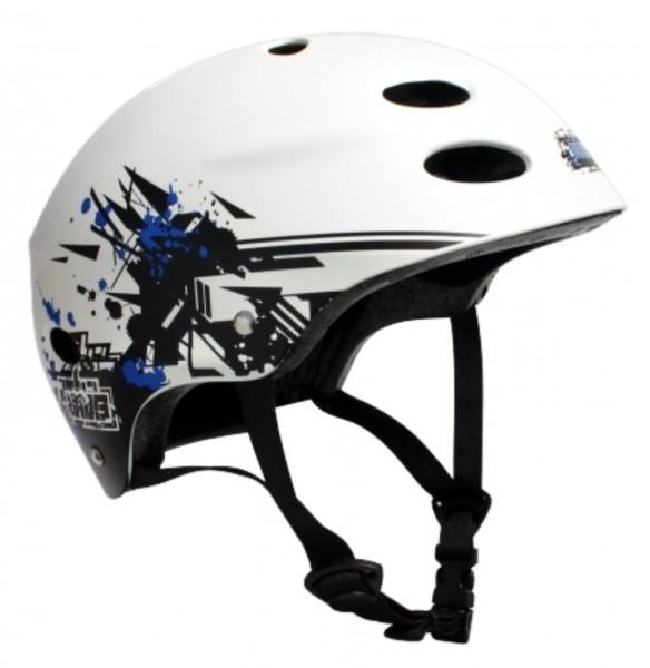 2721X MBS Helmet Grafstract - White
