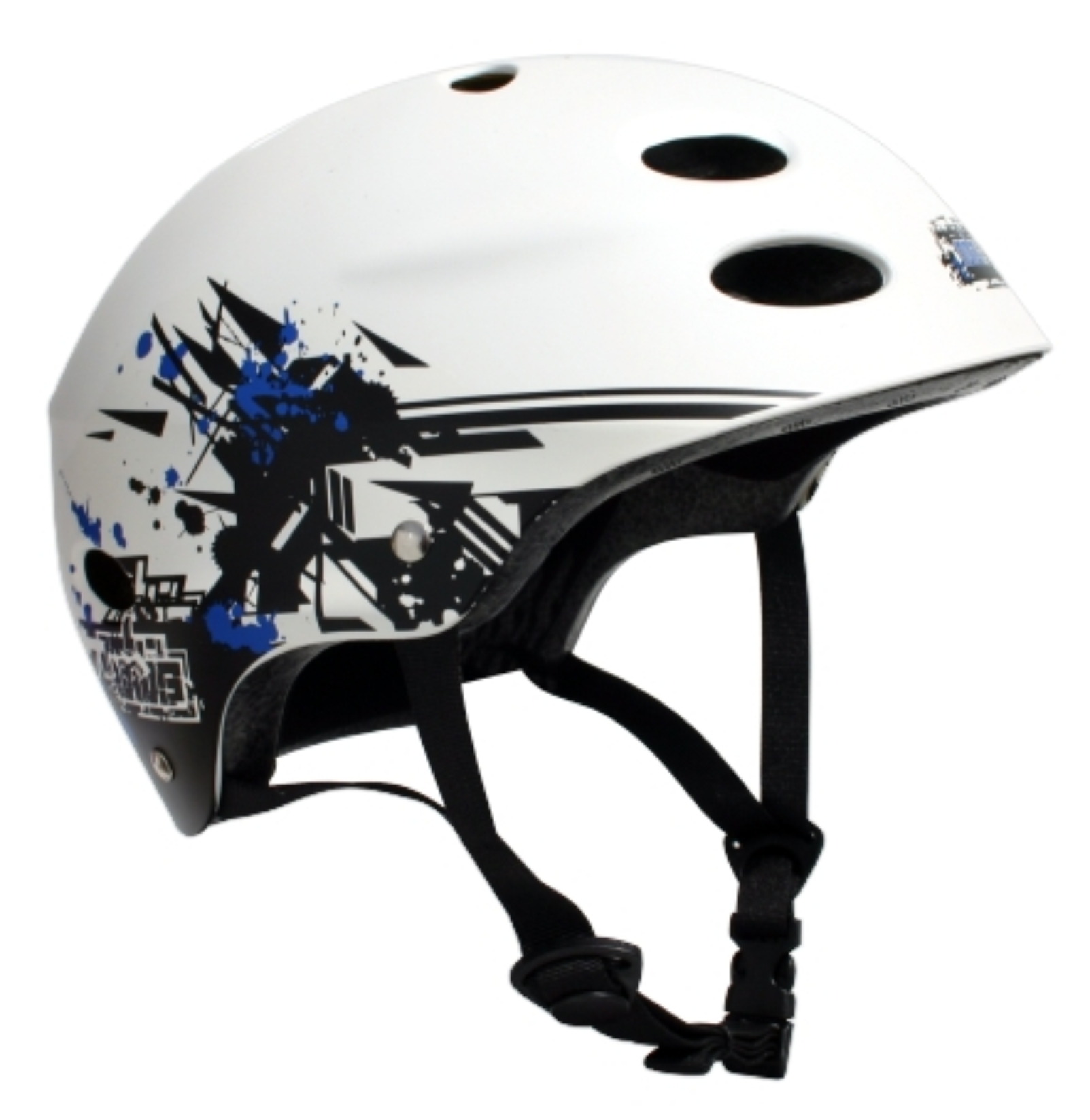 2721X MBS Helmet Grafstract - White