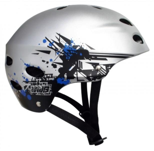 2721Y MBS Helmet Grafstract – Silver2