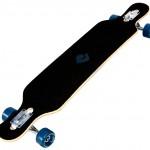 40008 – Atom 39 Inch Drop-Through Longboard – Artisan Blue – Top 3Qtr