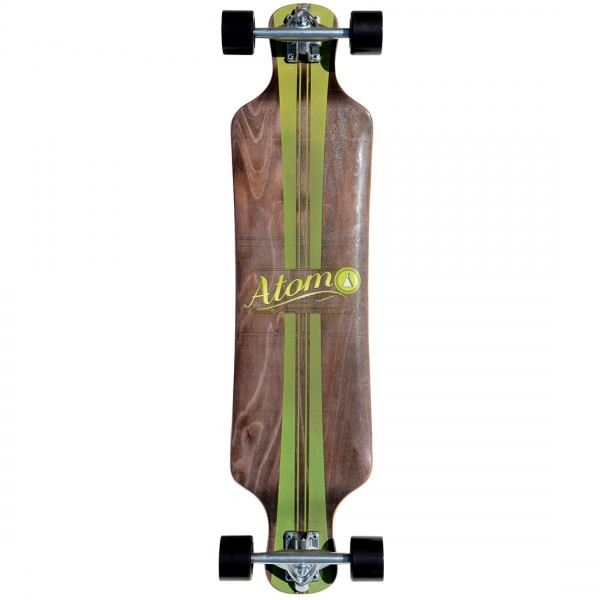 40009  Atom 39 Inch Drop-Deck Longboard – Artisan Brown
