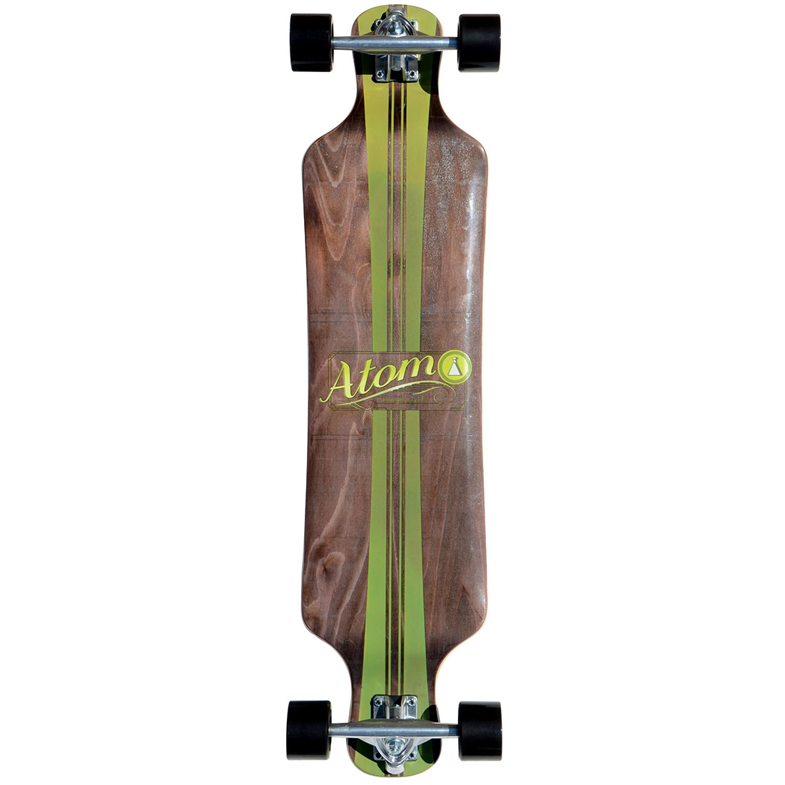 40009 Atom 39 Inch Drop-Deck Longboard - Artisan Brown