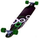 91047- Atom 41 Inch Drop Through Longboard – Bottom 3Qtr