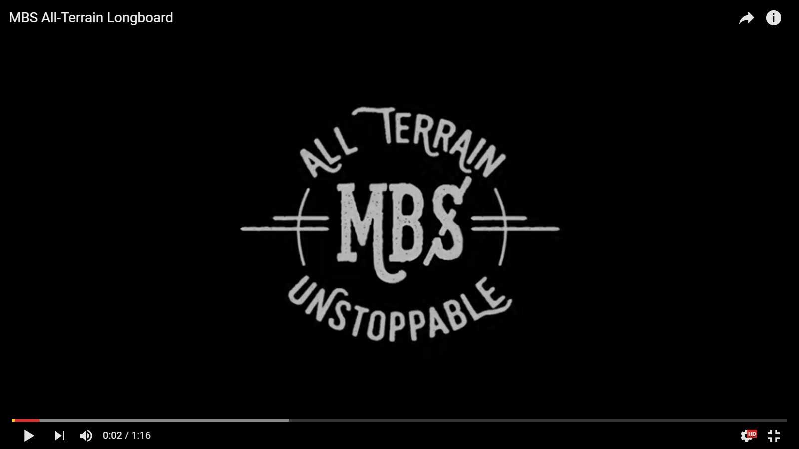 MBS All Terrain Longboard Promo Video