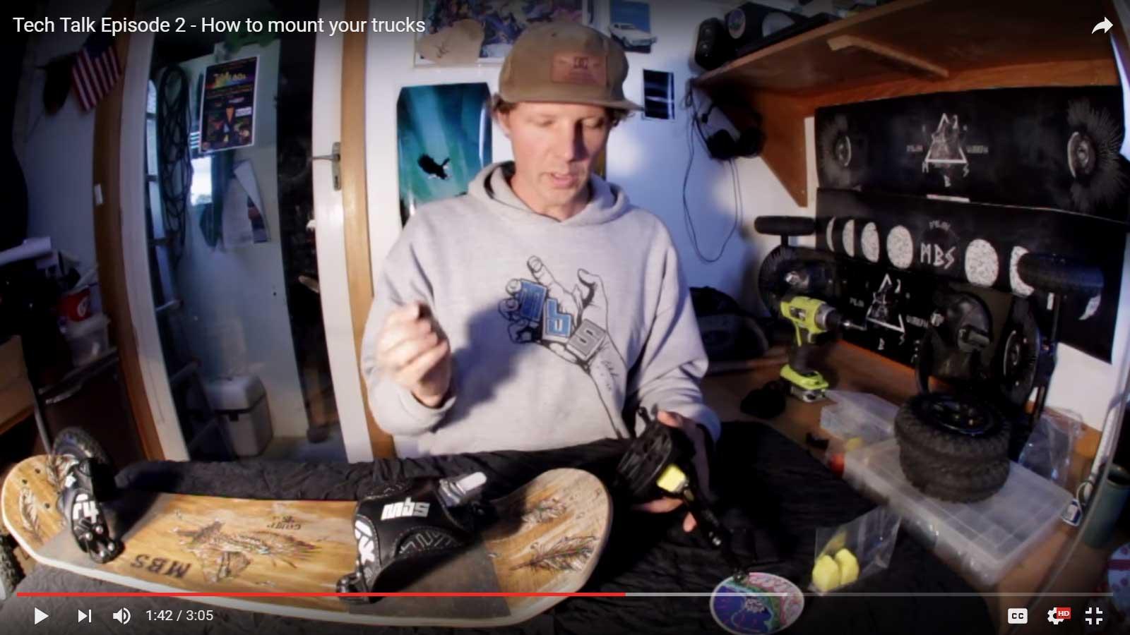 MBS Tech Talk Episode 2 – How to mount your Matrix II trucks