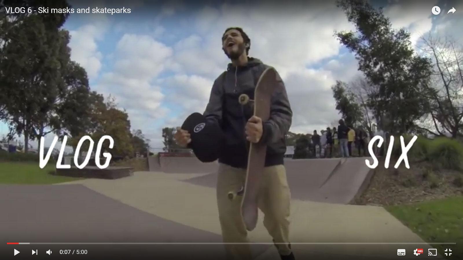 Vlog 6 – Ski masks and skateparks