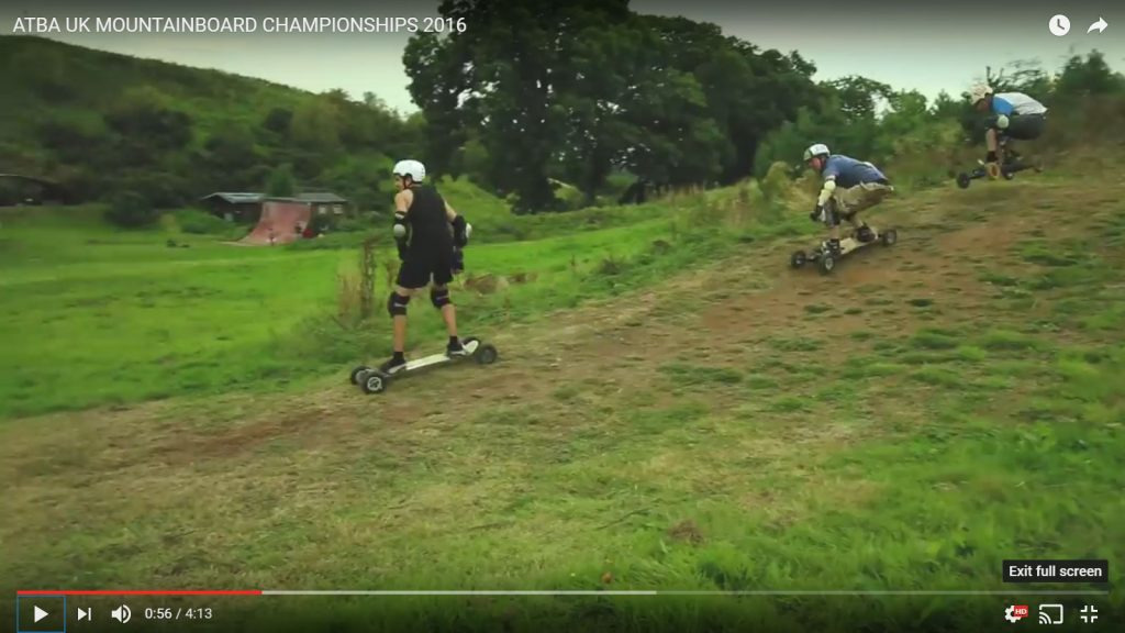 ATBA UK Mountainboarding Championships 2016