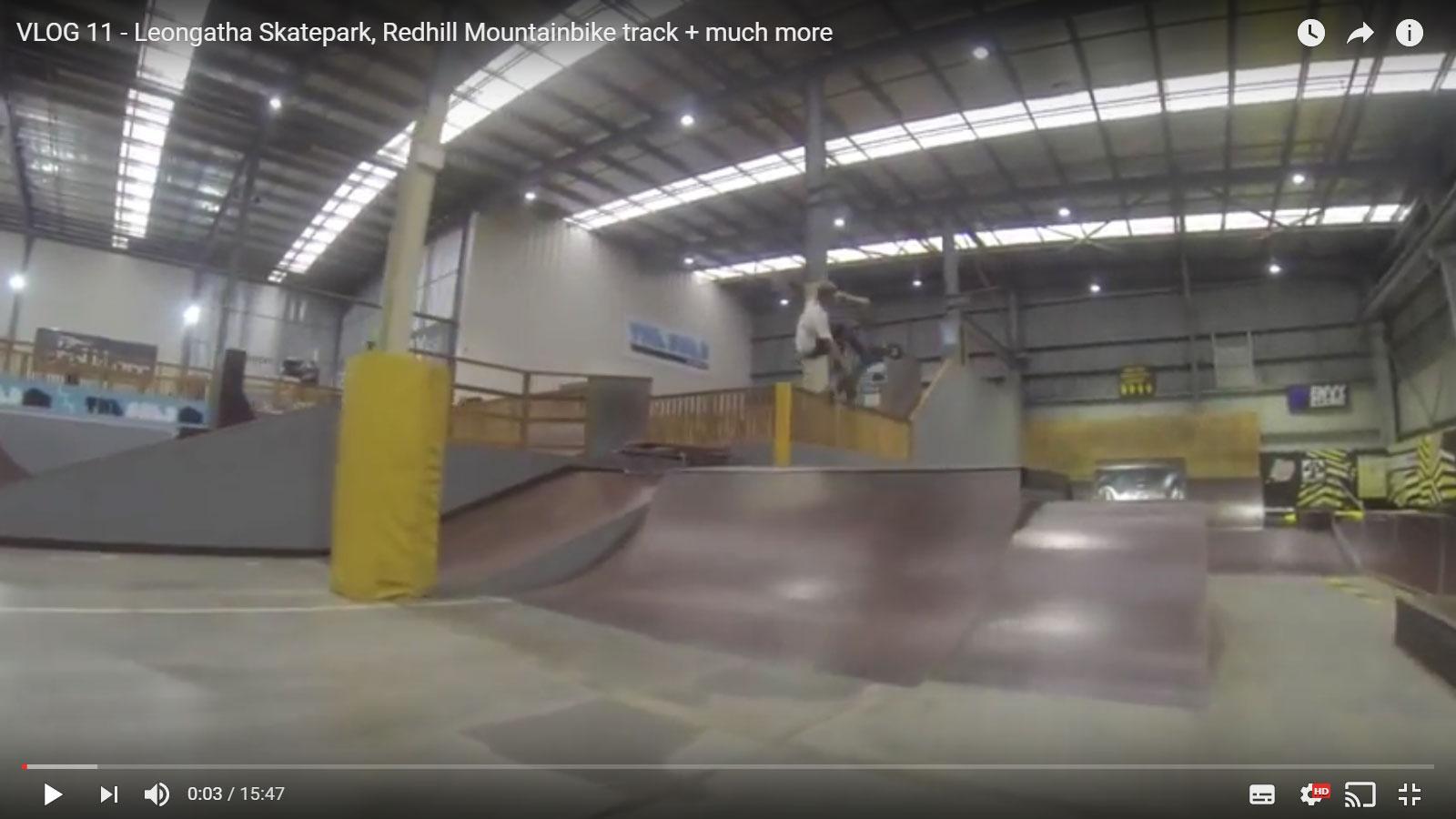Vlog 11 – Leongatha Skatepark, Redhill Mountainbike track + much more