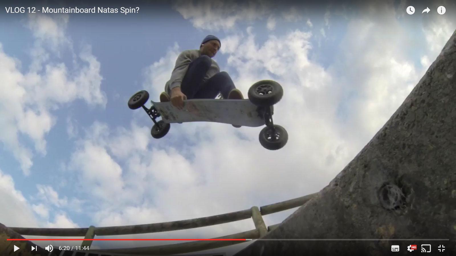 Dylan Warren Vlog 12 – Mountainboard Natas Spin?