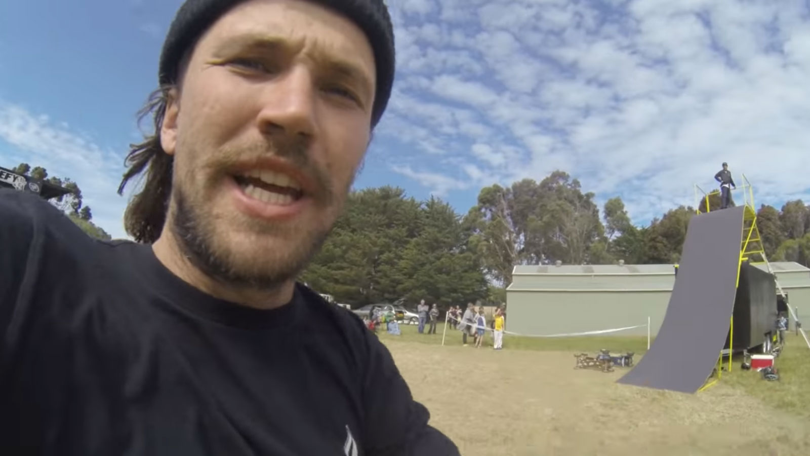 VLOG 17 – Behind the scenes of a Mountainboard demo