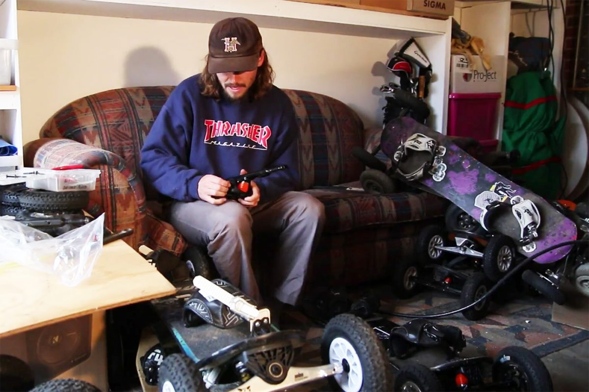 How to Change MBS Mountainboard Trucks