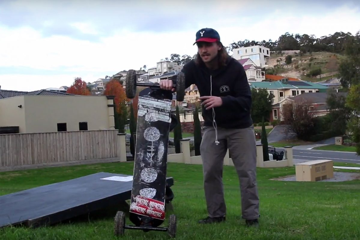 How to get better at mountainboarding