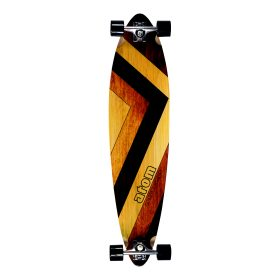 Atom Pintail Longboard - 39 Inch - Woody