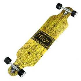 Atom Drop Through Longboard – 40 Inch – Tiki Banner 3