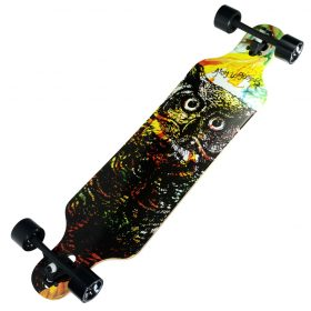 Atom Drop Through Longboard – 40 Inch – Owl 3