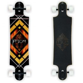 Atom Double Drop Longboard – 38 Inch – Woody Diamond 2