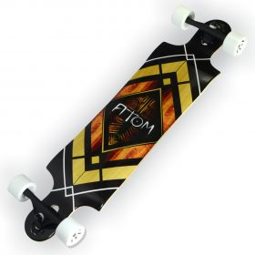 Atom Double Drop Longboard – 38 Inch – Woody Diamond 3