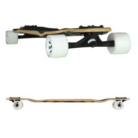 Atom Double Drop Longboard – 38 Inch – Woody Diamond 4