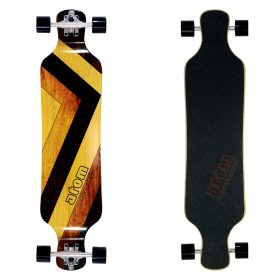 Atom Drop Deck Longboard – 39 Inch – Woody 2