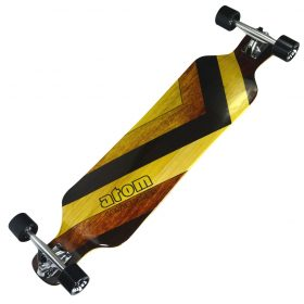 Atom Drop Deck Longboard – 39 Inch – Woody 3
