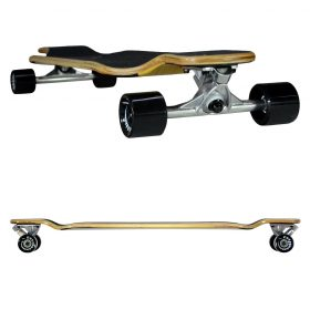 Atom Drop Deck Longboard – 39 Inch – Woody 4