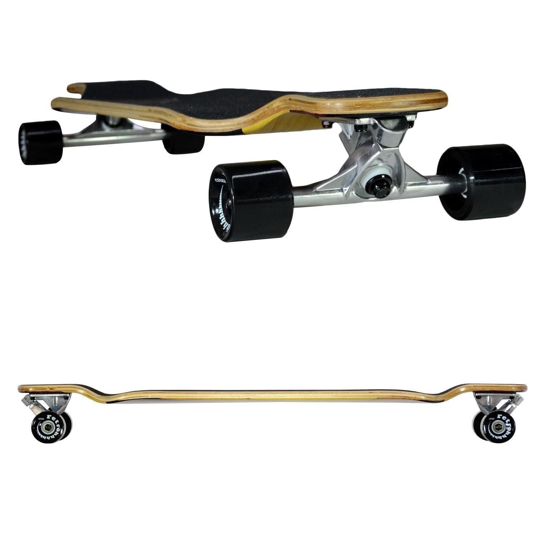 Atom Drop Deck Longboard - 39 Inch - Woody