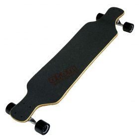 Atom Drop Deck Longboard – 39 Inch – Woody 5