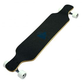 Atom Drop Deck Longboard – 39 Inch – Blue Triangles 5