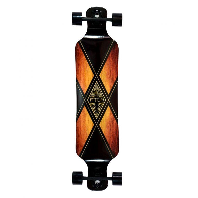 Atom Drop Deck Longboard – 39 Inch – Woody X 1