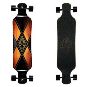 Atom Drop Deck Longboard – 39 Inch – Woody X 5