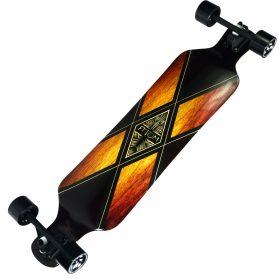 Atom Drop Deck Longboard – 39 Inch – Woody X 2