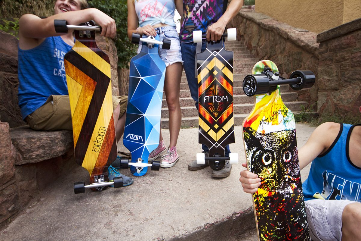 New ATOM Longboards for 2017