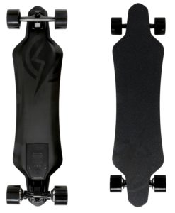 Atom Electric H16D Carbon Longboard Skateboard