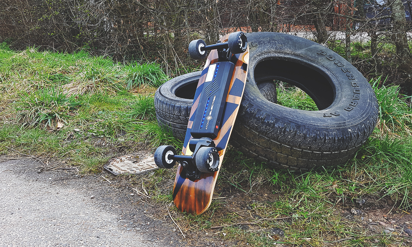 Getting to know… The Atom B10 Electric Skateboard