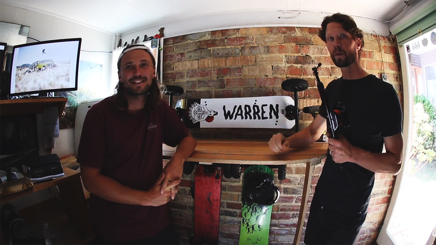 Tech Talk – MBS Pro 97 Mountain Board – Dylan Warren Pro Model